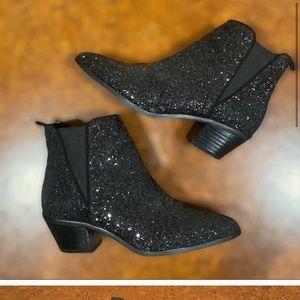 Zara glitter boots